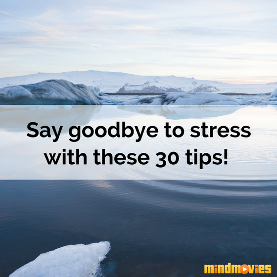 Eliminate stress with calm water
