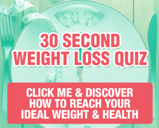 Free weight loss quiz button