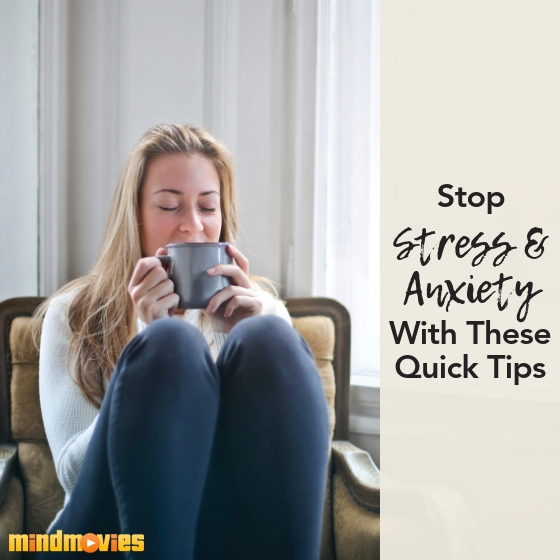 Stop stress and anxiety
