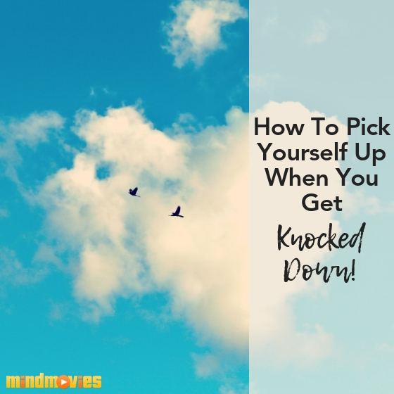 how to pick yourself up