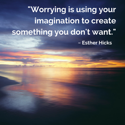 Stop worrying with the Law of Attraction