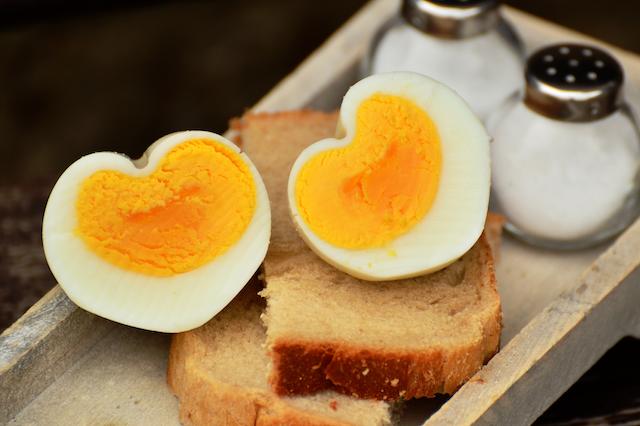 Healthy Breakfast - Hard Boiled Eggs