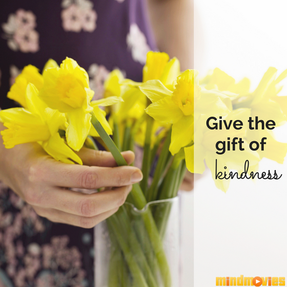 giving kindness through flowers