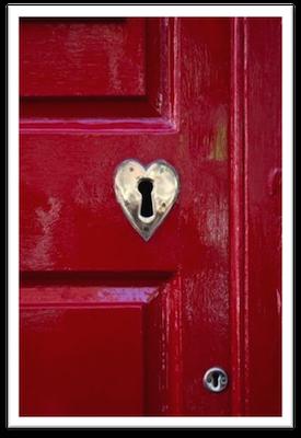 key to door of success