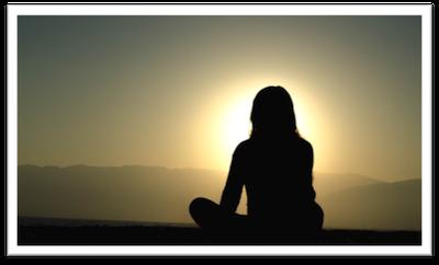 girl overlooking sunset