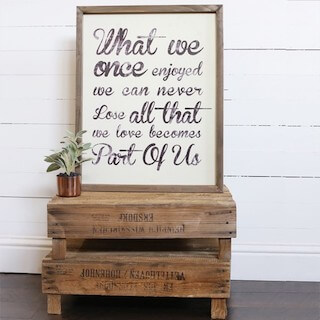 Gift a framed quote