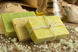 handmade toiletries