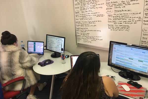 Mind Movies Team Focusing At Work