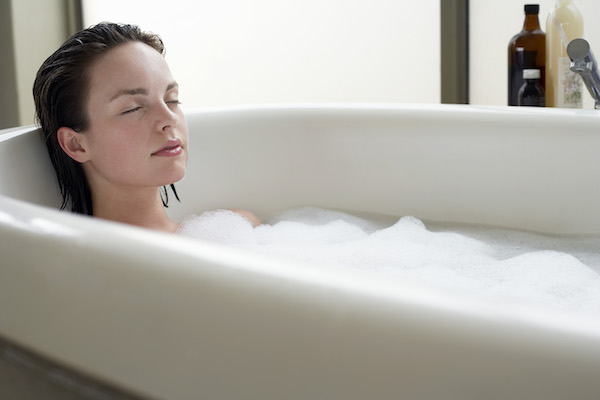 Relax in a Warm Bath