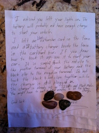 This random act of kindness will melt your heart