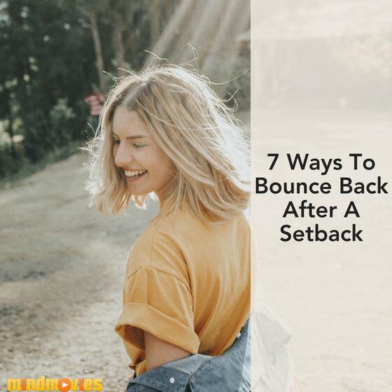 bounce back after set back