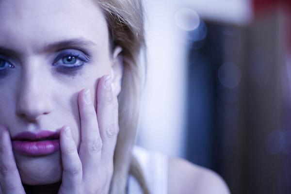 Person looking sad