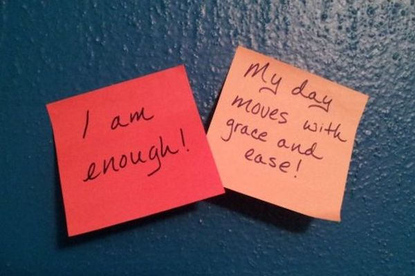 Use affirmations daily!