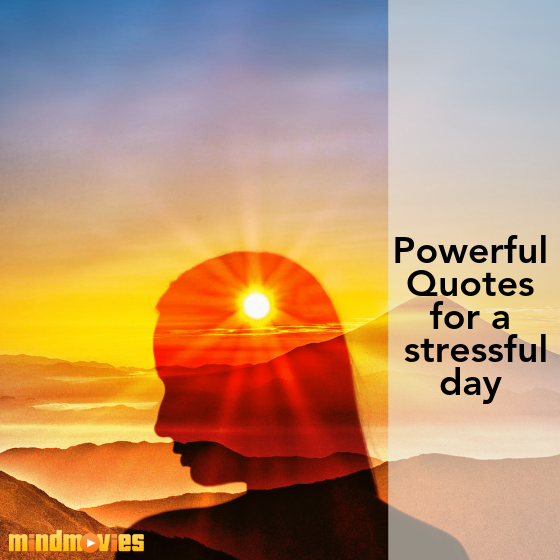 powerful quotes for a stressful day
