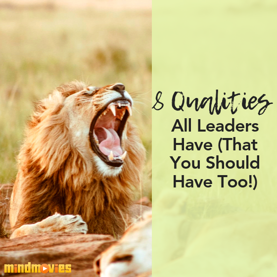 8 Qualities All Leaders Have (That You Should Have Too!)