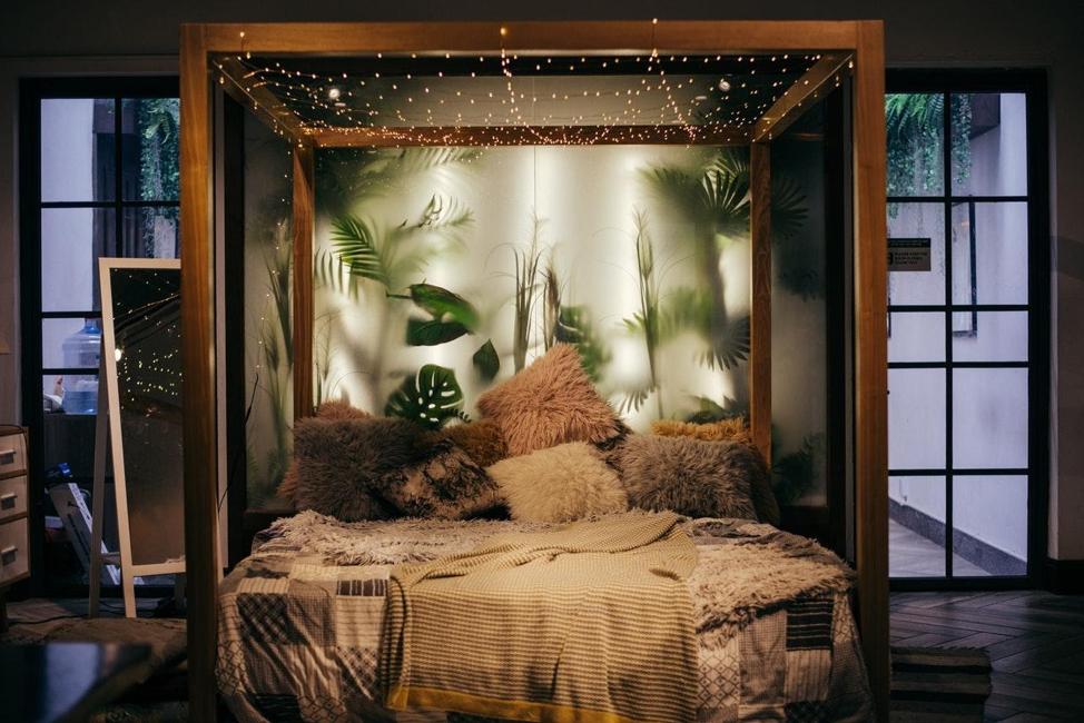 An Environmentally Conscious Bedroom