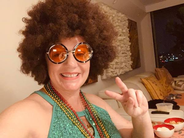 Disco-themed Natalie