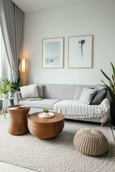 Clean and Simple Living Room