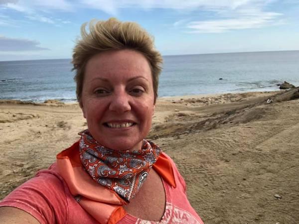 Natalie Taking a Selfie on the Beach