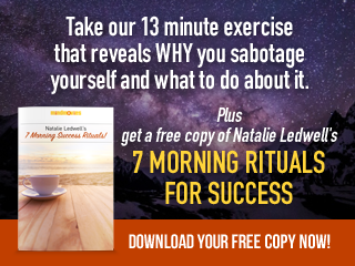 Exercise and seven morning rituals